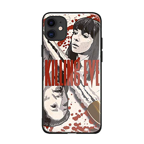 Killing Eve Cover FOR iPhone SE 6s 7 8 x XR XS 11 Pro MAX SE Plus Glass Phone Case Shell