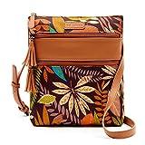 Crossbody Purse for Women with Tassel - Shoulder Handbag with Triple Zipper Pocket - Medium