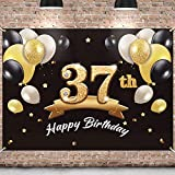 🎁 BIG SIZE BANNER: This birthday backdrop measures approximately 4 x 6 ft, comes with a 13 ft, Big enough to decorate your theme parties. When you get it, you just need to hang it up and decorate your party. 🎉 HIGH QUALITY: made of thick polyester fa...