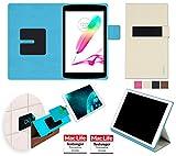 reboon Hülle für LG G Pad II 8.0 Tasche Cover Case Bumper | in Beige | Testsieger