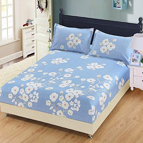 huyiming Se USA para la sábana de una Sola Pieza, 100 Impresos, Antideslizantes, colchón, Dormitorio, Dormitorio, Colcha 135X200cm