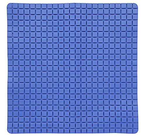 MSV Tapis de Bain Bleu Foncé Unique