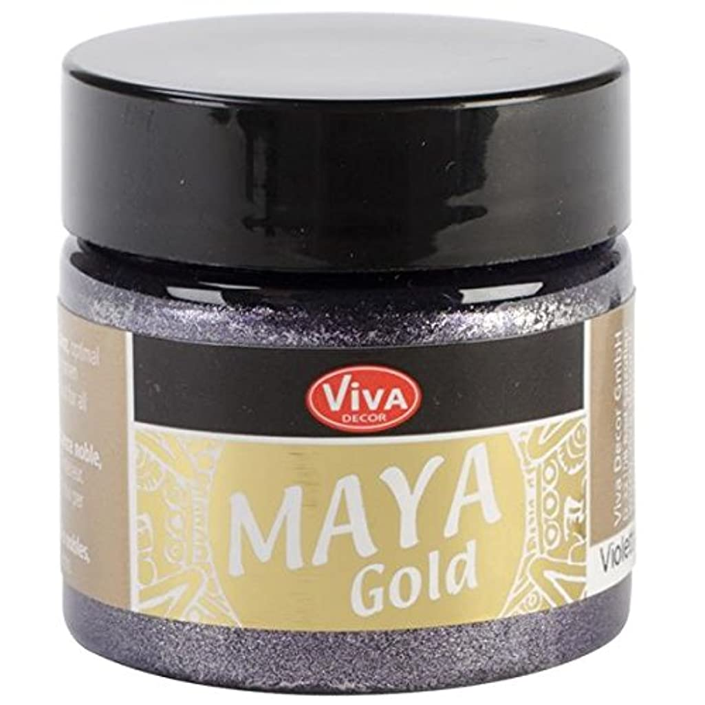 Viva Decor 123250034 Maya Gold Paint, Violet