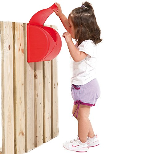 GHS Briefkasten für Spielanlagen, Kinderzimmer, rot