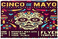 ジグソーパズル大人のための1000ピーススカルメキシコホリデーアートバナーカラフルなお祝い文化花パズル男の子のための女の子シニアギフト