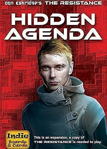 salida para la venta Resistance Hidden Agenda Agenda Agenda Card Game by Indie Boards & Cards  ahorrar en el despacho