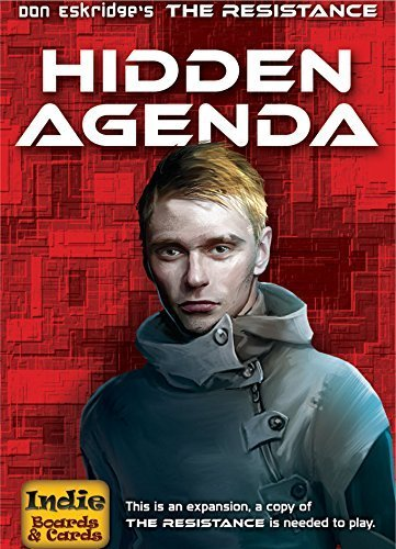 Resistance Hidden Agenda Card Game by Indie Boards & Cards