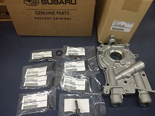 Genuine Subaru 11mm 2.5L Oil Pump w/Bolts & Seals WRX STi Turbo Oem IMPREZA LEGACY OUTBACK 2008-2015