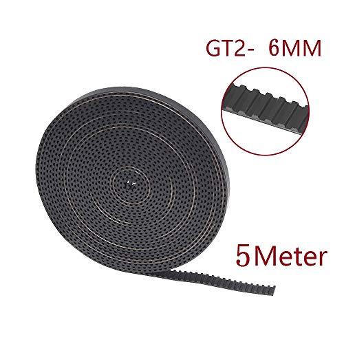 Gt2 Zahnriemen Gt2 Riemen 6mm 5 Meter für 3D-Drucke Tintenstrahldrucker