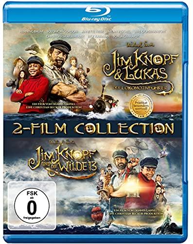 Jim Knopf & Lukas der Lokomotivführer + Jim Knopf und die Wilde 13 [Blu-ray]