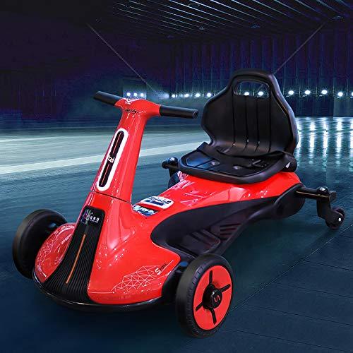 Coche eléctrico Drift Go Cart para niños Coche 2 plazas 2WD 12...