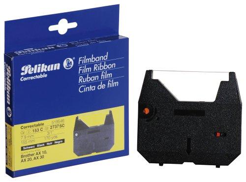 Pelikan - Ruban pour machine à écrire Brother AX10,AX30,AX410 - 1 correctable noir dim:7mmx155m