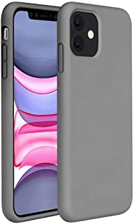 Matte Plastic Flexible Protection Cover for Apple iPhone 11 (Grey)