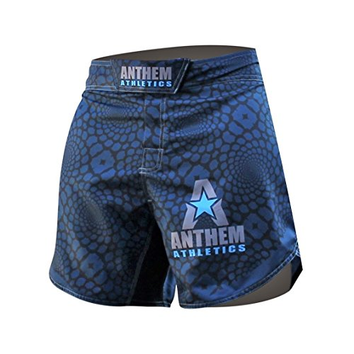 Athletics Defiance Kickboxing Short MMA Shorts - Muay Thai, BJJ, WOD, Cross-Training, OCR