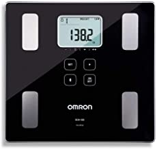 Omron Body Composition Monitor and Scale with Bluetooth Connectivity � 6 Body Metrics & Unlimited Reading Storage with Smartphone App by Omron, Black