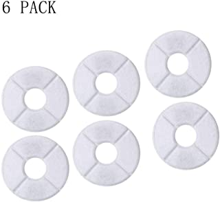 Shinea 6 Packs Pet Water Fountain Filters (Only Suitable for 2.6L)