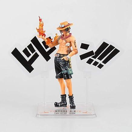 SG消防拳エース、アニメワンピースモデル、子供のおもちゃコレクション像、卓上装飾玩具像玩具モデルPVC(15cm) JSFQ