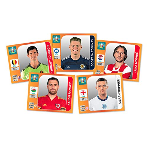 Panini UEFA Euro 2020 Sticker Collection (x50 Packs)