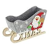 FRANK FLECHTWAREN Trineo decorativo de Navidad