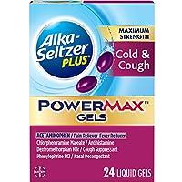 24 x Alka Seltzer Plus Maximum Strength PowerMax Cold & Cough Gels