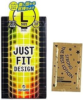 JUSTFIT(ジャストフィット) L + ザ・ベストローション ストロング1包付き