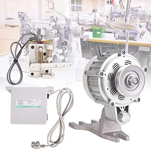 Motor de máquina de coser 750W, servo motor silencioso sin escobillas para máquina de coser 750W 7N.m, accesorio para máquina de coser(Blanco)
