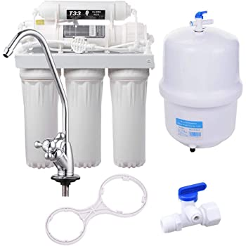 Complete Filter 5 pcs with Filmtec 50 GPD membrane for 5 stages Reverse Osmosis