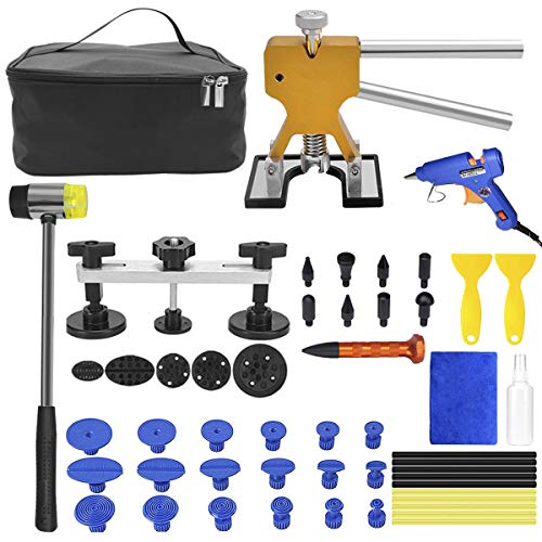 MENQANG Auto Paintless Dent Repair Tool, 39 PCS Car Dent Repair Kit with...