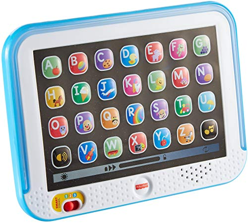 Fisher-Price Laugh & Learn Smart Stages Tablet in Blue – English Edition