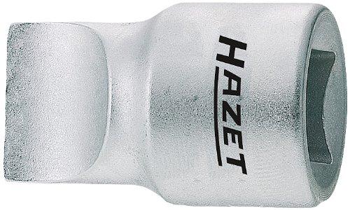 Hazet 980-3X19 Douille mâle Carré creux 12,5 mm (1/2 pouce) Profil à fente Taille: 3 x 19