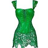 MISS MOLY Corsé|Mujer Vintage Sexi Corset Corsét Gothic Dress Diseño de Encaje Curvado Figura...