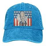 RFTGB Gorras Unisex Accesorios Sombreros Gorras de béisbol Sombreros de Vaquero Joe Biden 2020 Denim Baseball Cap, Unisex Vintage Dad Hat, Golf Hats, Adjustable Plain Cap