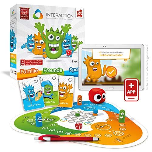 Rudy Games 1 Interaction – Interaktives Familienspiel mit App – Verrücktes Brettspiel mit Mini-Games für die ganze Familie und Freunde – Ab 8 Jahren – Für 44236 Spieler