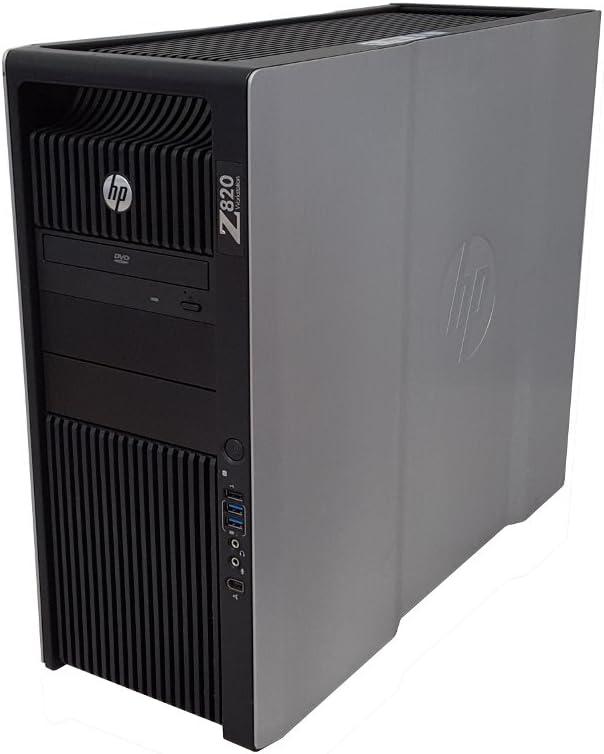 HP Z820 Workstation Intel Xeon 24 Cores 2.7GHz 128GB RAM 512GB Solid State Drive + 2TB Hard Drive Dual NVIDIA Quadro K4000 3GB Graphics Windows 10 Pro 64-bit (Renewed)