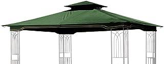 Replacement Gazebo Canopy for 10 x 12 Regency II Patio Gazebo, Hunter Green