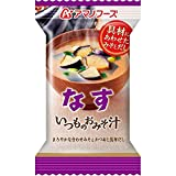 アマノフーズ アマノフーズ いつものおみそ汁 なす 9.5g×10個
