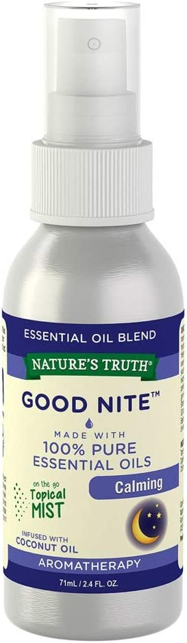 Nature's Truth sold out Goodnight Calming Mist 4 Bottle Pack 5% OFF of 2.4oz