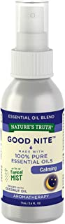 Nature's Truth Good Nite Calming On the Go Hydrating Mist - 2.4 oz, Pack of 2
