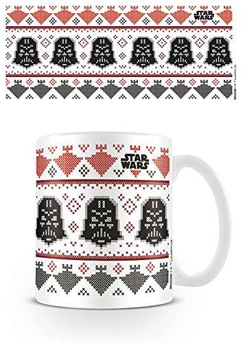 empireposter Star Wars - Darth Vader Xmas - Krieg der Sterne Keramik Tasse - Größe Ø8,5 H9,5cm
