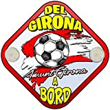 Placa bebé a bordo aficionat del Girona fútbol a bord