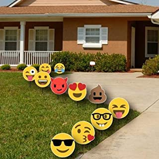 emoji yard signs