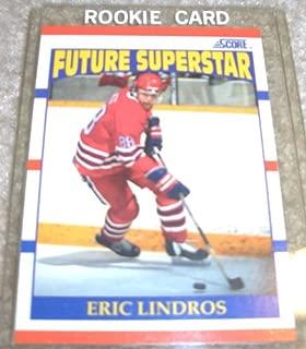 1990 Score Eric Lindros # 440 NHL Hockey Rookie Card