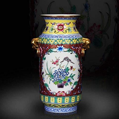 GBLight vaas Chinese antieke hand klassieke stijlen mooie artistieke touch charme keramische ambachten strikte controles emaille porselein 23x10cm