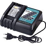 DOSCTT DC18RCT DC18RC 7A Chargeur Rapide de Remplacement pour Makita 14.4V-18V Batterie BL1850B BL1830 BL1840 BL1850 BL1860 BL1430 BL1440 BL1450 Batteries