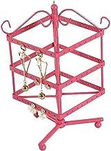 Biżuteria st i prezentacja kreatywne kute żelazo można obracać kolczyki biżuteria biżuteria kolczyki półka 96 otwór Sto na...