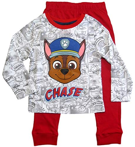 Paw Patrol Schlafanzug Kollektion 2018 Pyjama 92 98 104 110 116 122 Shortie Shorty Jungen Rot (Rot, 110-116)