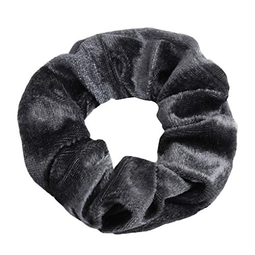 Lindahaot meisjes multicolor elastisch fluweel Scrunchie Stretchy haarband touw-haarband vrouwen headware