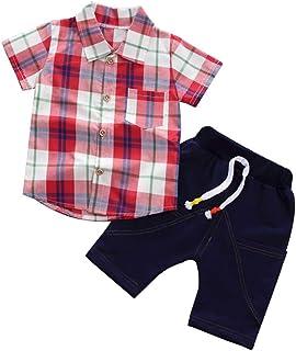 1e658f9692670 Amazon.fr   Rouge - Ensembles   Bébé garçon 0-24m   Vêtements