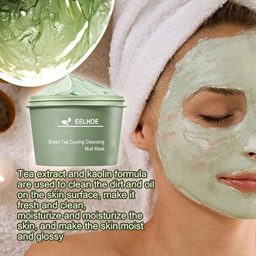 ROERDTRY Gesichtsmaske Mitesser Maske, Anti Aging Mask, gegen unreine Haut, Akne, fettige Haut& Mitesser, Natural Gesicht & Körper Maske