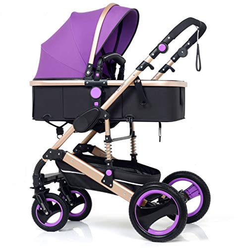 Best Buy! OLMITA Luxury Baby Stroller 3 in 1 with Car Seat High Landscape Pram for Newborns Travel S...